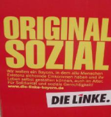 Linke-Plakat