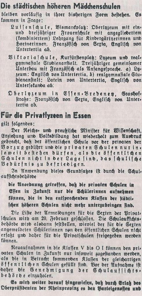 Schulwesen 1937 3