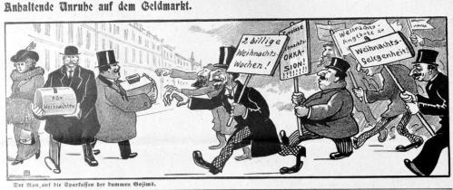 Anhaltende Unruhe auf dem Geldmarkt