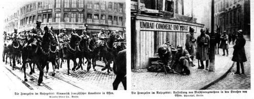 Die Franzosen im Ruhrgebiet 1923