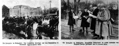 Die Franzosen im Ruhrgebiet
