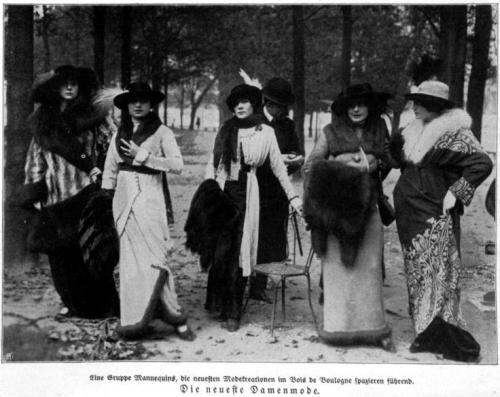 Die neueste Damenmode 1913