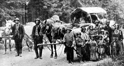 galizische Zigeunergesellschaft 1902