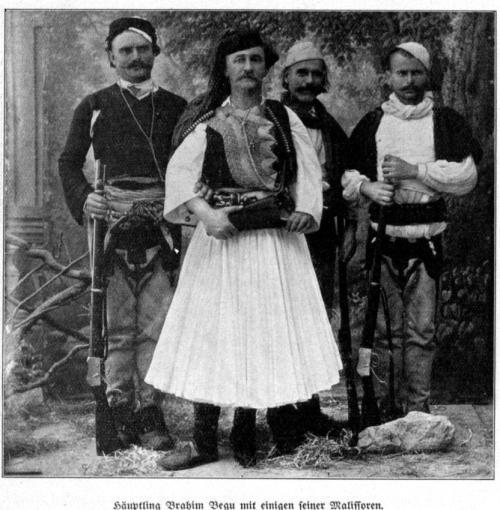 Häuptling Brahim Begu 1913