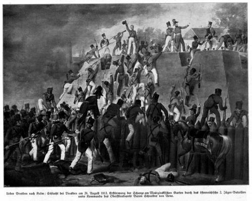 Schlacht bei Dresden 1813