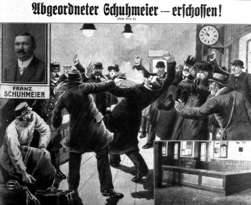Abgeordneter Schuhmeier erschossen