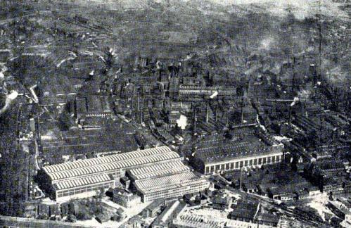 Die Krupp Werke in Essen 1923