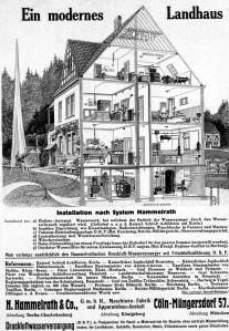 Ein modernes Landhaus 1913