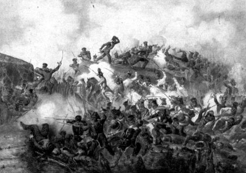 Gefecht bei Hochheim am Main  9 November 1913