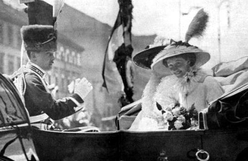 Hochzeit im deutschen Kaiserhaus 1913