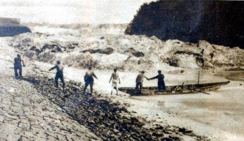 Naturkatastrophe an der Saale 1933