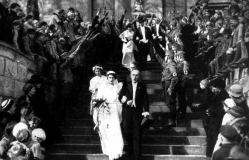 Trauung v Luckner Schulenburg mit Gneisenau 1933