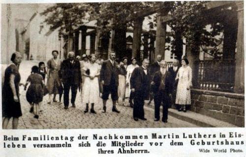 Nachkommen Luthers