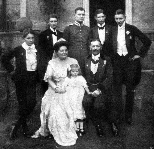 Silberhochzeit des Kammerherrn von Witersheim Neuland 1913