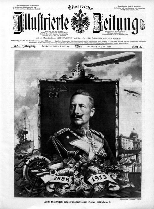 Wilhelm II 25 jähriges Regierungsjubiläum