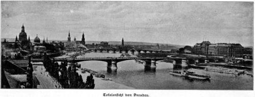 Totalansicht von Dresden 1913