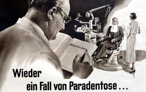 Wieder ein Fall von Paradontose 1938