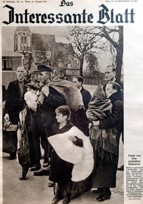 polnische Flüchtlinge 1939