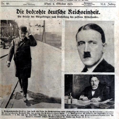 Die bedrohte deutsche Reichseinheit