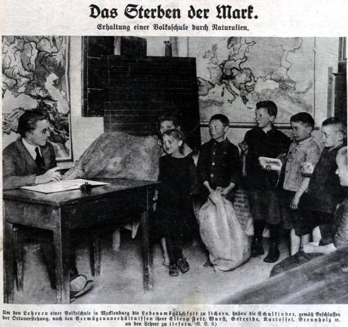 Lehrergehalt 1923