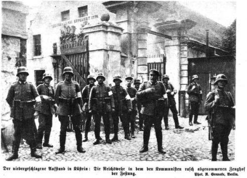 Aufstand in Küstrin 1923