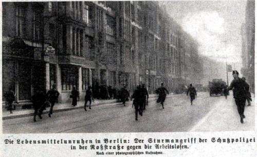 Lebensmittelunruhen in Berlin 1923
