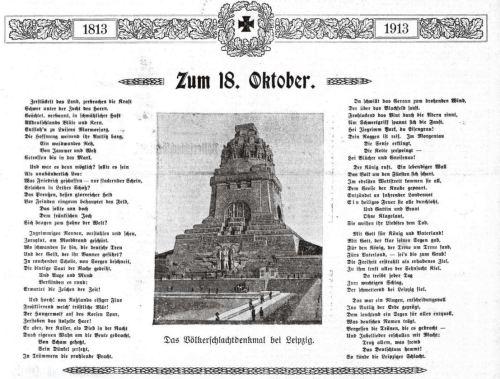 Zum 18. Oktober 1813