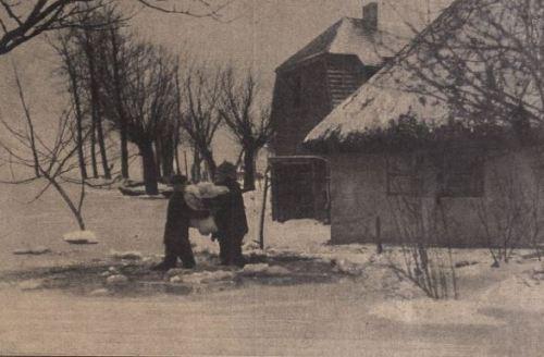 Kösliner Einwohner retten ihr Eigentum 1914
