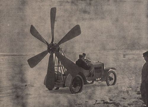 Luftgetriebenes Automobil