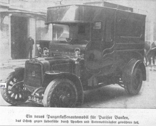 Panzerkassenmobil 1914