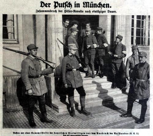 Der Putsch in München 1923