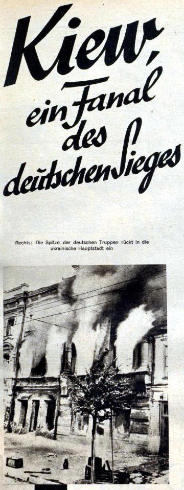 Kiew ein Fanal des deutschen Sieges