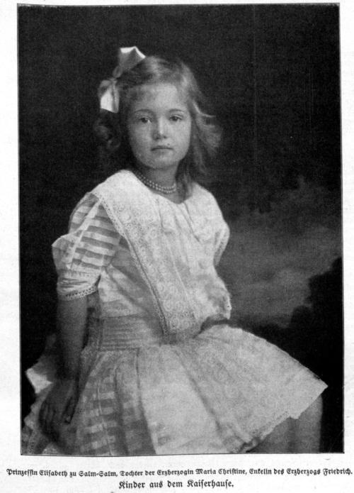 Prinzessin Elisabet zu Sam-Salm