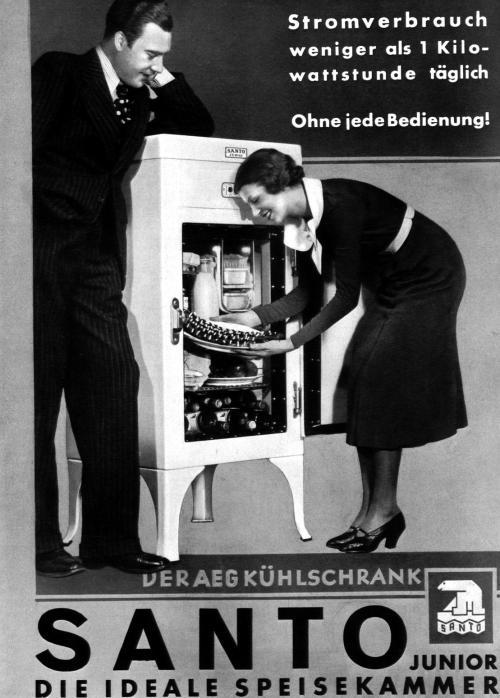 Der AEG Kühlschrank Santo 1934
