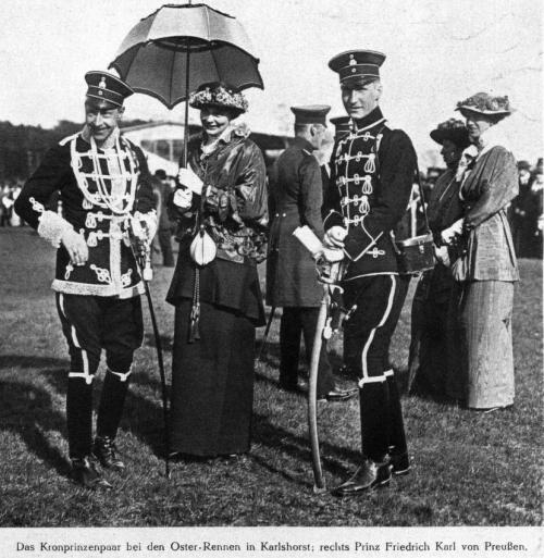Osterrennen in Karlshorst 1914