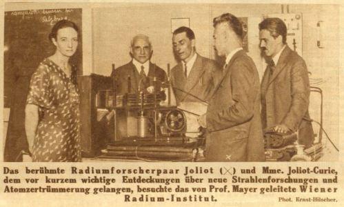 Ehepaar Curie 1934