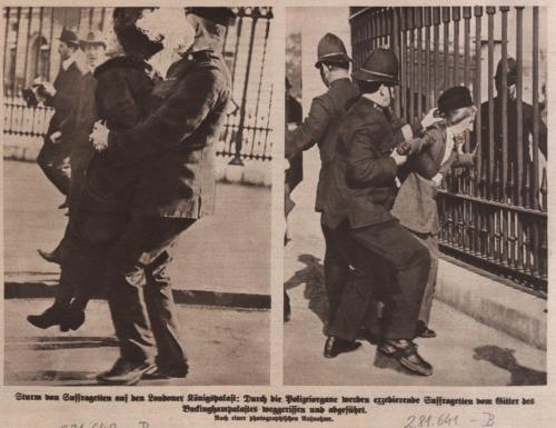 Sturm der Suffragetten 1914