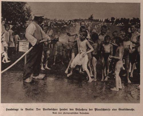 Hundstage in Berlin 1914 Eins