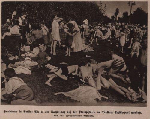 Hundstage in Berlin 1914 Zwei