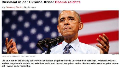 Obama reichts