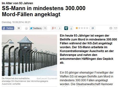 Endlich Hitlers Stellvertreter gefaßt