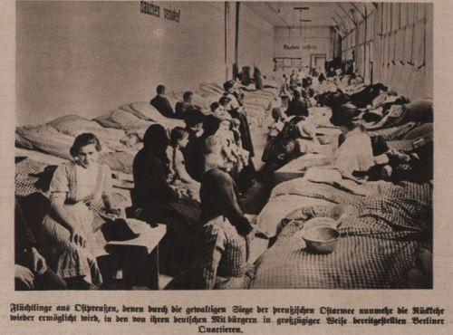 Flüchtlinge aus Ostpreussen 1914