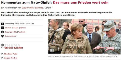 Merkel besucht ihre Truppe