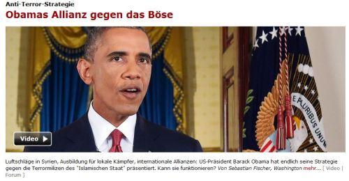 Obama denkt an Selbstmord