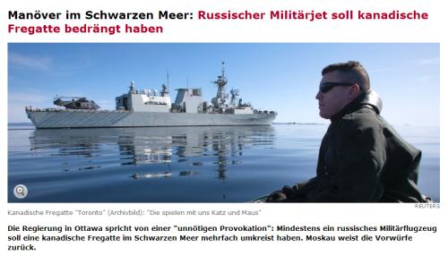 Schwerer Fregattenunfall