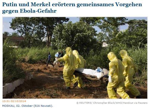 Einreise von Ebola Patienten weiterhin kein Problem