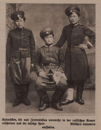 Kalmücken im Ersten Weltkrieg