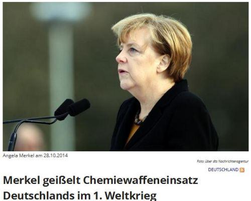 Merkel kriecht auf dem Bauch
