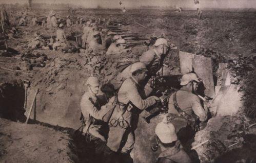 Stark verschanzt 1914