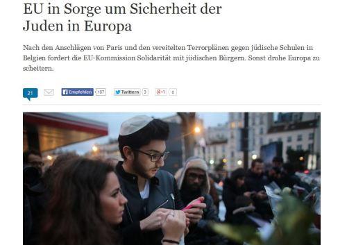Küsst die Juden wo ihr sie trefft